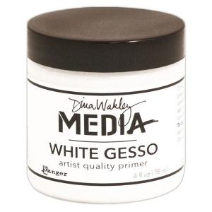 Ranger Dina Wakley Media: Gesso White, 4oz Jar