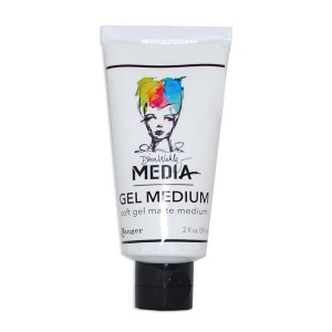 Ranger Dina Wakley Media Gel Medium: Soft, 2oz Tube