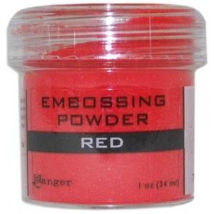 Ranger Opaque/Shiny Embossing Powders: Red