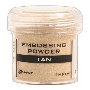 Ranger Opaque/Shiny Embossing Powders: Tan