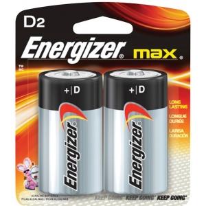 Energizer® MAX® MAX® D Battery 2pk: Batteries, (model EBC95), price per pack