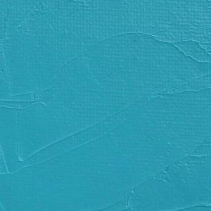 Gamblin 1980 Oil Color Paint Turquoise 37ml; Color: Blue; Format: Tube; Size: 37 ml; Type: Oil; (model G7685), price per tube