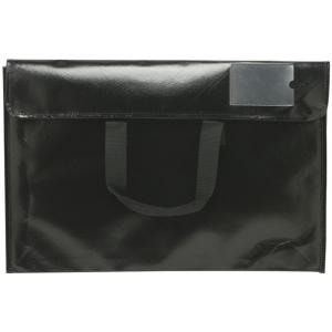"Itoya® Art Profolio® Art Envelopes 10.5"" x 14""; Color: Black/Gray; Material: Polypropylene; Size: 10 1/2"" x 14""; (model NV1014BK), price per each"