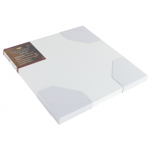 """Heritage Arts™ Deluxe Gessoed Painting Panel Traditional 12"""" x 12""""; Color: White/Ivory; Format: Panel; Material: Gesso; Size: 12"""" x 12""""; Type: Panel/Board; (model HGPPT1212), price per each"""