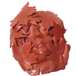 Sculpture House Claystone Self-Hardening Clay: Red, 50 lbs.