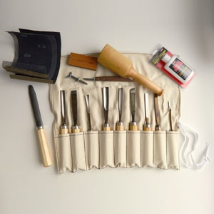 Sculpture House Advanced Wood Carving Tool Set: K11