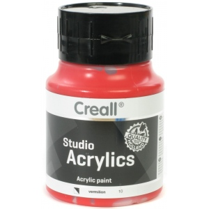 American Educational Creall Studio Acrylics: 500 ml, 10 Vermilion