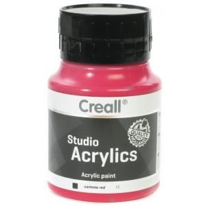 American Educational Creall Studio Acrylics: 500 ml, 12 Carmine Red