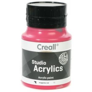 American Educational Creall Studio Acrylics: 500 ml, 13 Magenta Red