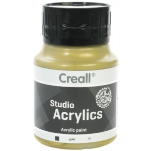 American Educational Creall Studio Acrylics: 500 ml, 19 Gold