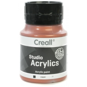 American Educational Creall Studio Acrylics: 500 ml, 21 Copper