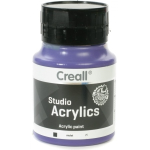 American Educational Creall Studio Acrylics: 500 ml, 25 Violet