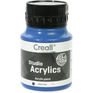 American Educational Creall Studio Acrylics: 500 ml, 32 Phtalo Blue