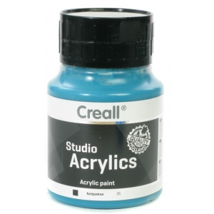 American Educational Creall Studio Acrylics: 500 ml, 35 Turquoise