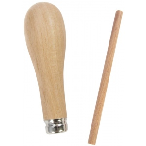 American Educational ABIG Beech Wood Handle Fitted with Metal Ferrule