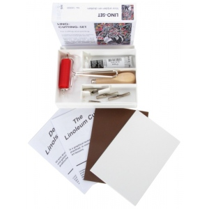 American Educational ABIG Lino Cutting Set: 6 mm Hardened Steel in Box