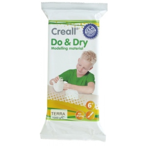 American Educational Creall-Do&Dry Regular: 1000 g, Terracotta