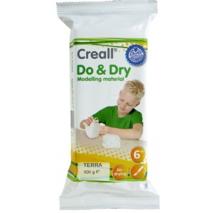 American Educational Creall-Do&Dry Regular: 500 g, Terracotta