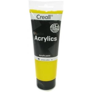 American Educational Creall Studio Acrylics Tube: 250 ml, 06 Primary Yellow