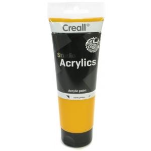 American Educational Creall Studio Acrylics Tube: 250 ml, 07 Warm Yellow