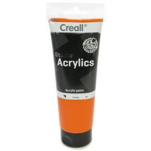 American Educational Creall Studio Acrylics Tube: 250 ml, 09 Orange