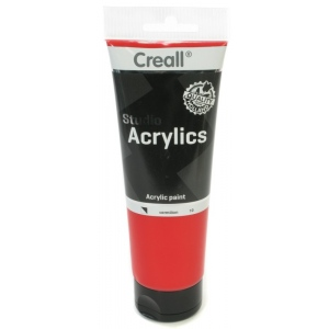 American Educational Creall Studio Acrylics Tube: 250 ml, 10 Vermillion