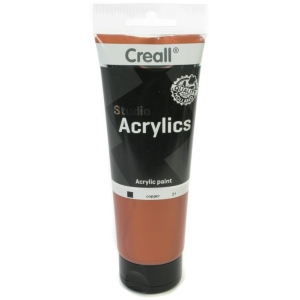 American Educational Creall Studio Acrylics Tube: 250 ml, 21 Copper