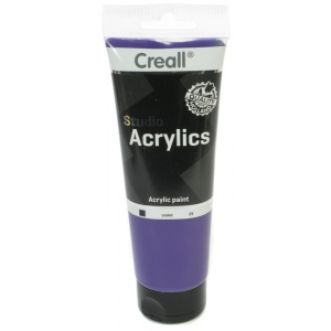 American Educational Creall Studio Acrylics Tube: 250 ml, 25 Violet