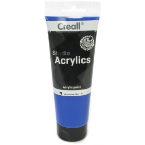 American Educational Creall Studio Acrylics Tube: 250 ml, 42 Ultramarine Blue