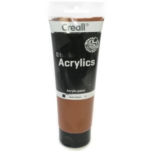 American Educational Creall Studio Acrylics Tube: 250 ml, 67 Burnt Sienna