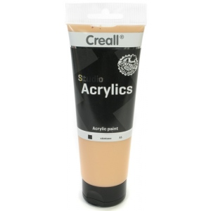 American Educational Creall Studio Acrylics Tube: 250 ml, 85 Skintone