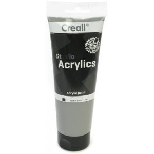 American Educational Creall Studio Acrylics Tube: 250 ml, 98 Neutral Grey
