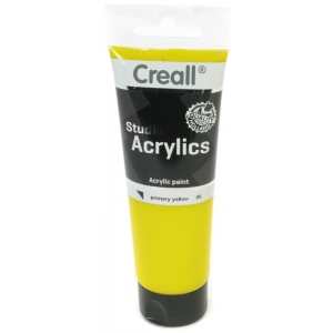 American Educational Creall Studio Acrylics Tube: 120 ml, 06 Primary Yellow