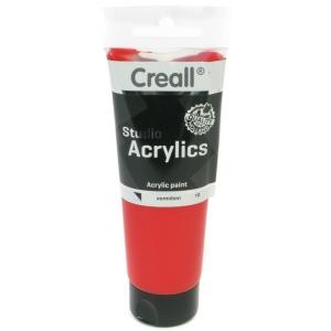 American Educational Creall Studio Acrylics Tube: 120 ml, 10 Vermillion