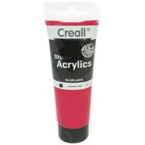 American Educational Creall Studio Acrylics Tube: 120 ml, 12 Carmine Red