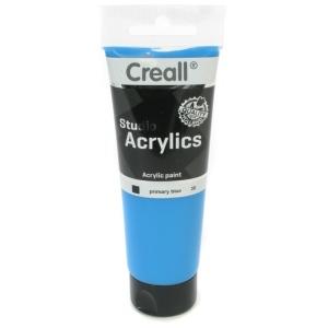 American Educational Creall Studio Acrylics Tube: 120 ml, 30 Primary Blue