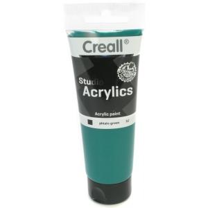 American Educational Creall Studio Acrylics Tube: 120 ml, 52 Phtalo Green