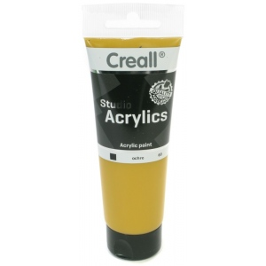 American Educational Creall Studio Acrylics Tube: 120 ml, 60 Ochre
