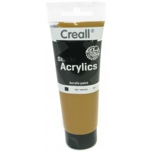 American Educational Creall Studio Acrylics Tube: 120 ml, 61 Raw Sienna