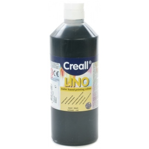American Educational Creall-Lino: 500 ml, 09 Black