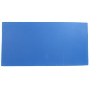 "American Educational Block Printing Rectangle: 6"" x 12"", Blue"