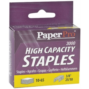 "PaperPro® High Capacity Staples: 3000 Staples, Refill, 3/8"", (model 1962), price per 3000 Staples"