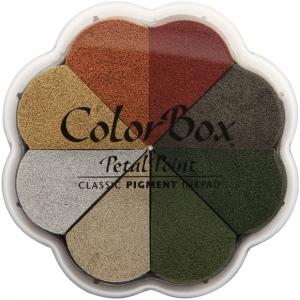 ColorBox® Petal Point Metallic Ink Pad Alchemy; Color: Metallic; Format: Pad; Ink Type: Pigment; Shape: Petal Points; (model CS08015), price per each