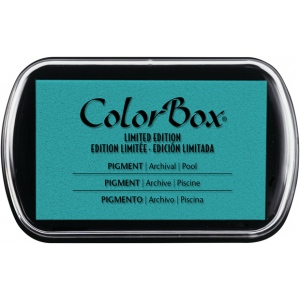 ColorBox Pigment Ink Pad: Pool, Full Size