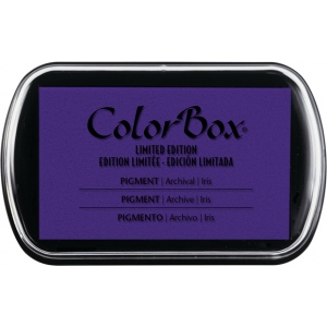 ColorBox® Full Size Pigment Ink Pad Iris: Purple, Pad, Pigment, Full Size Rectangle, (model CS15215), price per each
