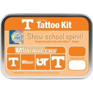 ColorBox® University of Tennessee Collegiate Tattoo Kit; Format: Tin; Type: Stamp; (model CS19602), price per set