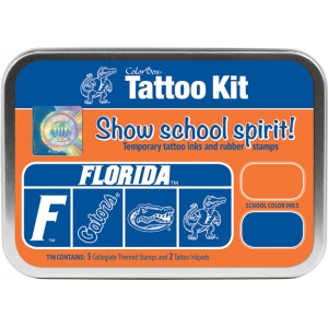 ColorBox® University of Florida Collegiate Tattoo Kit; Format: Tin; Type: Stamp; (model CS19606), price per set