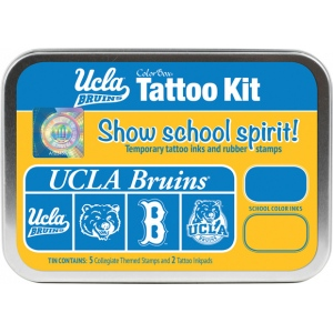 ColorBox® University of California Los Angeles Collegiate Tattoo Kit; Format: Tin; Type: Stamp; (model CS19617), price per set
