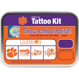 ColorBox Collegiate Tattoo Kit: Clemson University