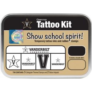ColorBox Collegiate Tattoo Kit: Vanderbilt University